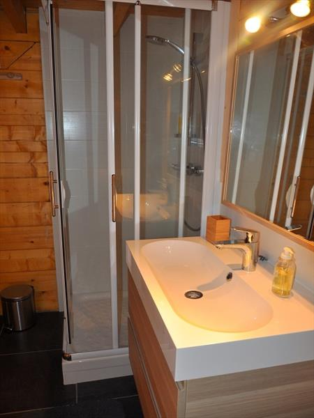 Downstairs ensuite and guest bathroom