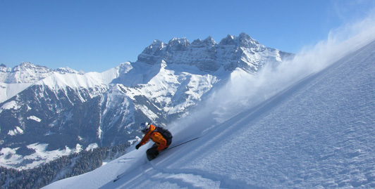 Amazing areas of on and off piste